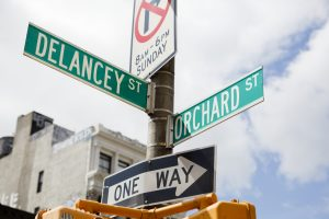 Delancy and Orchard Street