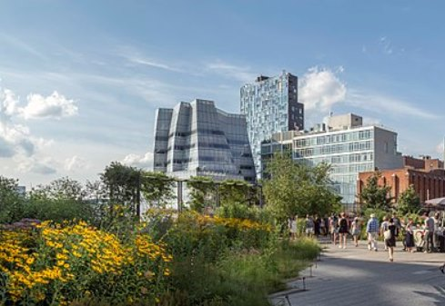 Chic Buildings of the Highline or Architecture New York Style