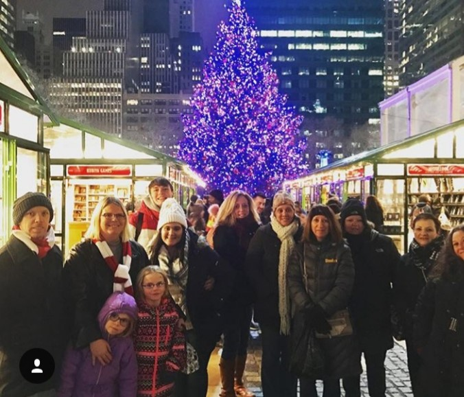 holiday tour group'in nyc