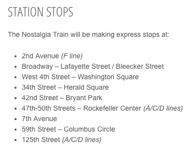 station stops list nyc