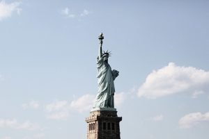 The Statue of Liberty - A custom walking tour destination.